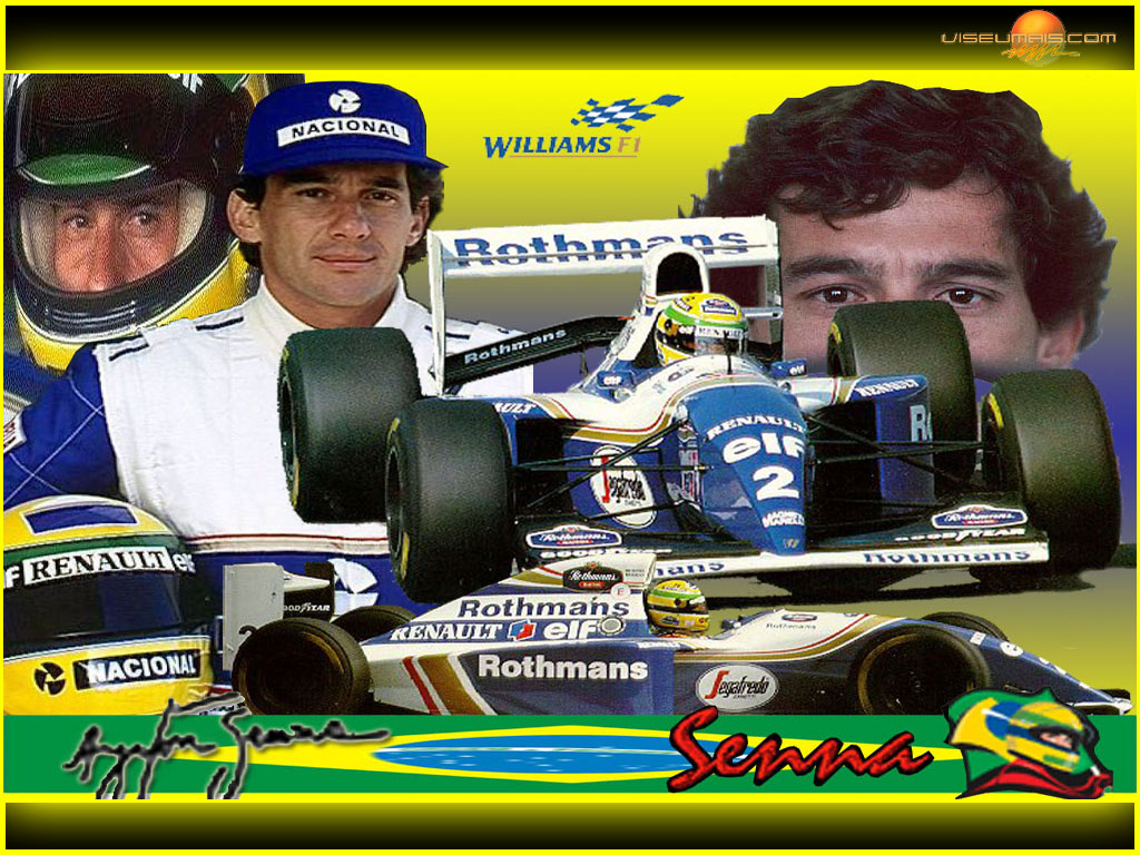 1994 Ayrton Senna en Williams