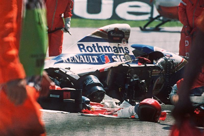Momentos Después Del Accidente F1 En Estado Puro