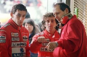Marlboro McLaren Honda teammates Brazili