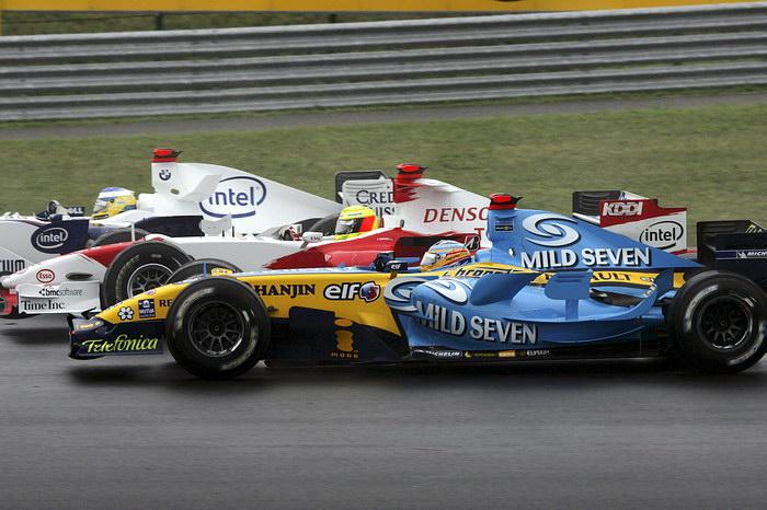Resultado de imagen de Fernando ALonso Hungria 2006