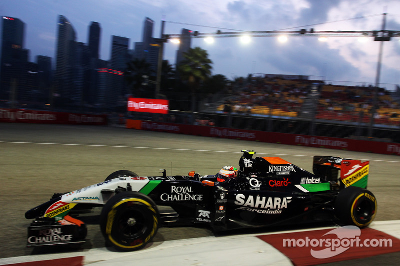 Motor Racing - Formula One World Championship - Singapore Grand Prix - Practice Day - Singapore, Singapore