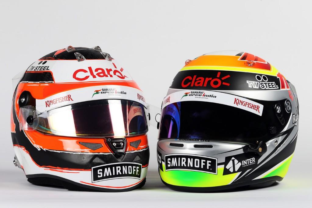 Motor Racing - Sahara Force India F1 Team Livery Reveal -  Mexico City, Mexico