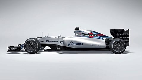 WILLIAMS PRESENTA SU MONOPLAZA PARA LA TEMPORADA 2015