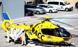Helicóptero Fernando Alonso