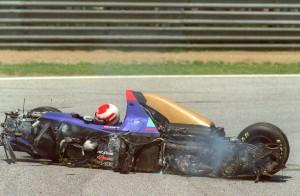 Austrian Formula One driver Roland Ratzenberger in