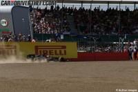 Lección y maestria de Fernando Alonso saliendo de la grava