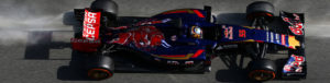MONTMELO, SPAIN - FEBRUARY 28:  Carlos Sainz of Spain and Scuderia Toro Rosso drives during day three of the final Formula One Winter Testing at Circuit de Catalunya on February 28, 2015 in Montmelo, Spain.  (Photo by Mark Thompson/Getty Images) *** Local Caption *** Carlos Sainz