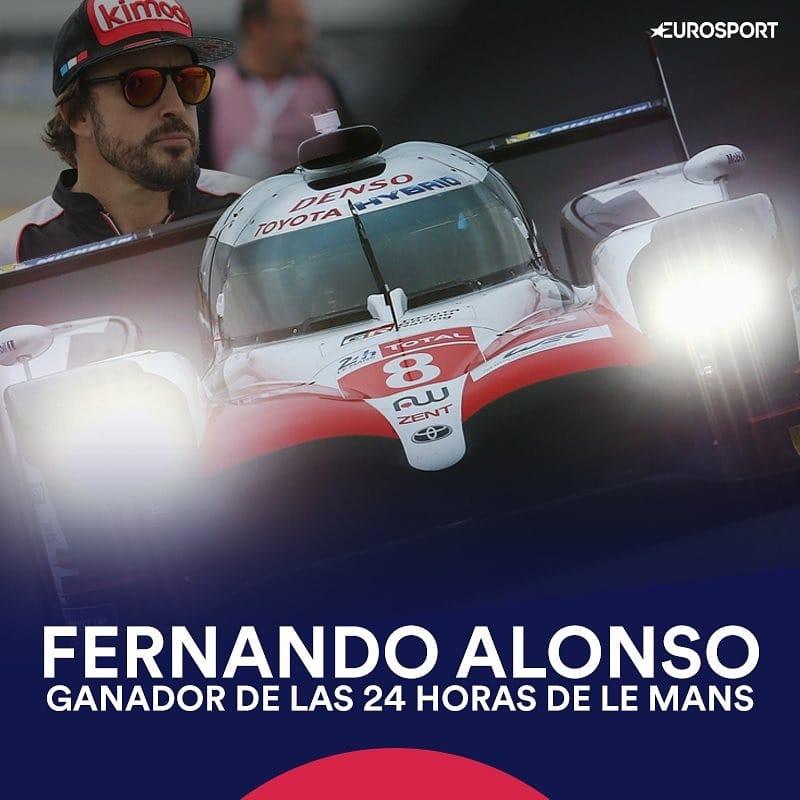Fernando Alonso triunfa en Le Mans y acrecienta su leyenda