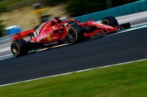 Sebastian Vettel en el Gran Premio de Hungría. EFE