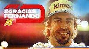 """Todos los años se va algún piloto de F1, pero no todos los años se va un grande; """"Hasta Luego Campeón"""" #GraciasFernando"""